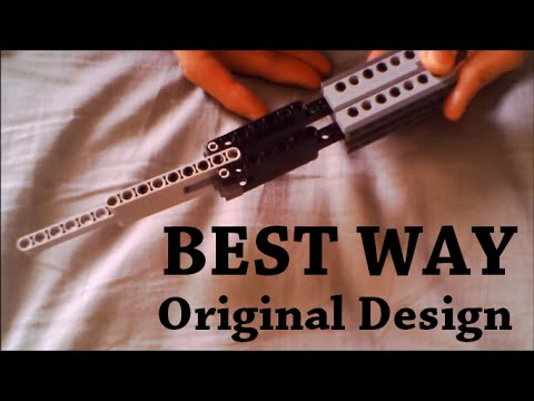 How To Make A Lego Butterfly Knife (Best Way)