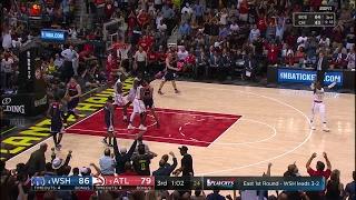 Quarter 3 One Box Video :Hawks Vs. Wizards, 4/28/2017 12:00:00 AM