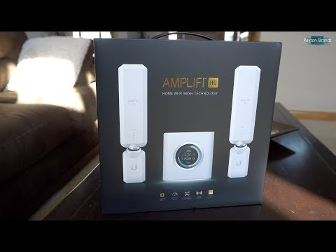 AmpliFi HD Mesh Wi-Fi System Unboxing and Setup