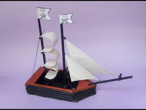 Pirates Ship | Newspaper craft -Tutorial