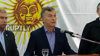 Argentina: President Macri calls for inquiry into missing submarine