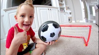 FATHER SON HOUSE SOCCER! / Glide Ball!