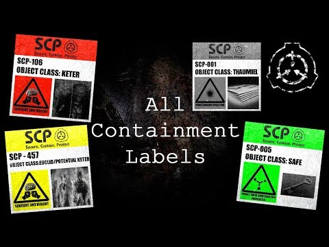 All Containment Labels | SCP - Containment Breach Ultimate