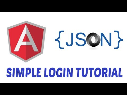 Angularjs for Beginners Simple login page using Angular JS and JSON