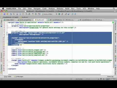 ANT Build Scripting with Javascript