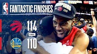 Raptors Win NBA Championship in Thrilling Fashion   2019 NBA Finals