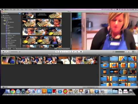 iMovie Transitions Between Clips
