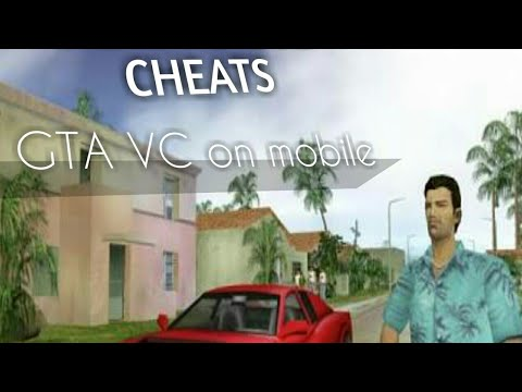 How to use cheats on gta vice city in Android||ULTIMATE GAMING