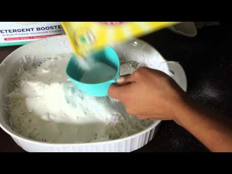 How to Make Laundry Detergent- DIY Tutorial- ONLY 3 INGREDIENTS!