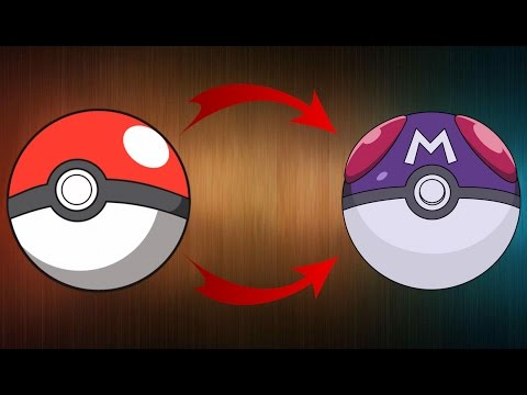 HOW TO TURN ANY POKEBALL INTO A MASTER BALL!!