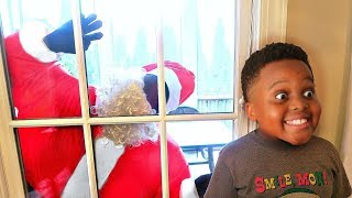 Bad Baby Santa Claus ATTACKS Spatula Girl Shasha and Spatula Boy Shiloh - Onyx Kids