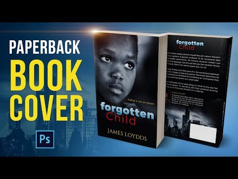 How to create a Kindle Paperback book cover