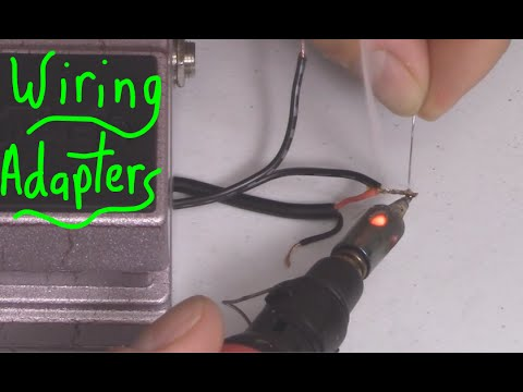 HOW TO HACK CHARGING ADAPTERS TO POWER OTHER DEVICES.