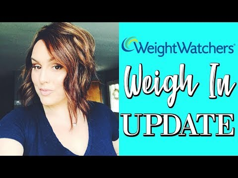 WEIGH IN UPDATE / WEIGHT WATCHERS / POINTS PLUS/DANIELA DIARIES