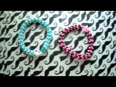 Rubber Band Loom Chevron Bracelet (For Any Loom)
