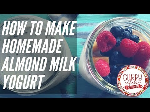 Homemade Almond Milk Yogurt