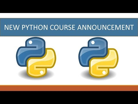 New Python course announcement 😃😃