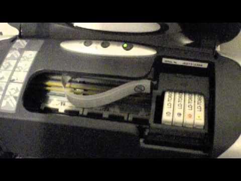 Replacing Ink Cartridge