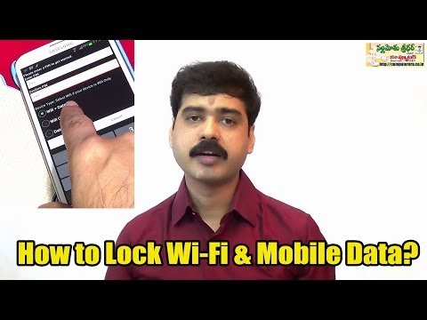 How to Password Protect Internet on Android?