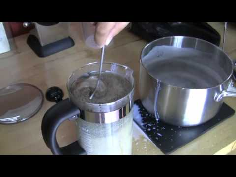 Taste Test: Coffee Press with Hot Milk