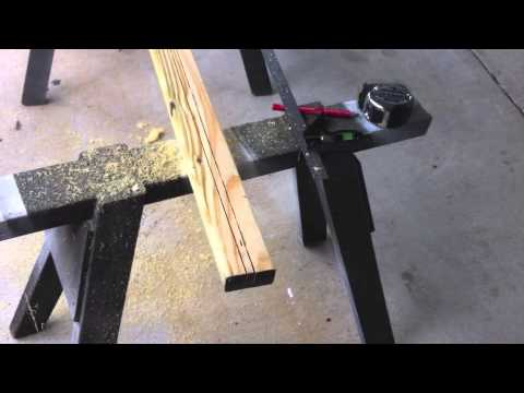 How to use a Circular Saw as a Router