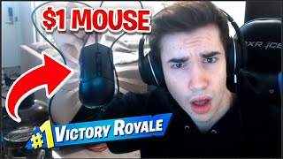I Played Fortnite using the WORST Mouse In The WORLD…