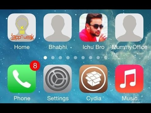 CallShortcut : Call a person from the home screen as easy as you would open an app - iOS 7/8