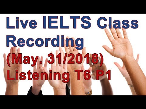 IELTS Listening for High Scores Test 6 Section 1 and 2