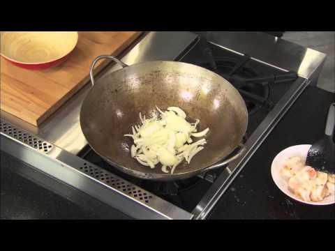 Stir-Fry Bok Choy and Shrimp-Great Tastes2013