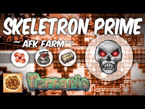 Terraria Skeletron Prime Farm | 1.3 AFK Farms | Mechanical Bosses | Expert