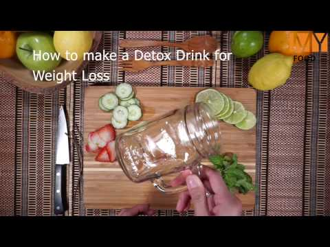 How to make a Detox Drink for Weight Loss