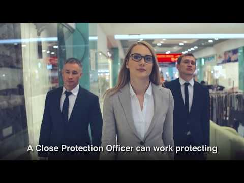 SIA Close Protection course information