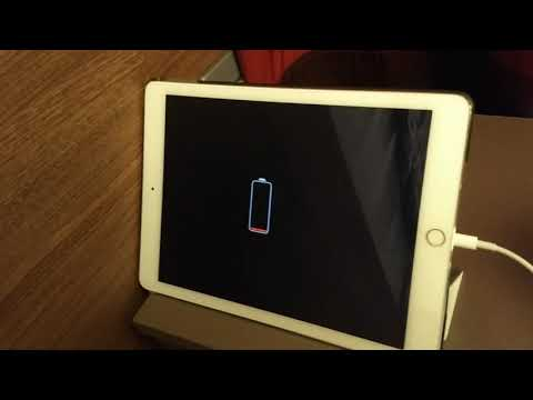 iPad Air 2 keeps turning on and off