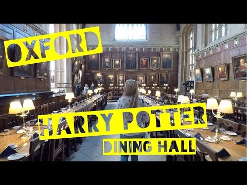 Christ Church Oxford University Tour
