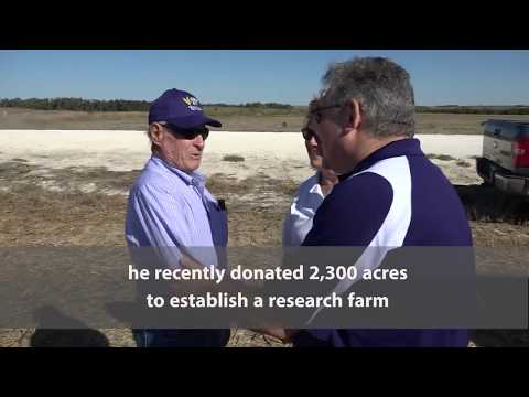 The Harold and Olympia Lonsinger Sustainability Research Farm