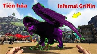 """ARK: Ragnarok Mod #12 - Mình Tiến Hóa """"Prime Griffin"""" Thành """"Infernal Griffin"""", Mạnh Vãi Luôn =))"""
