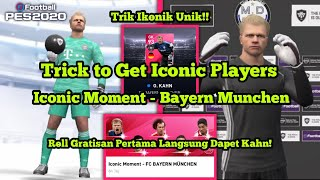 Cara Mendapatkan Oliver Kahn di Iconic Moment Bayern Munchen! Dapet Der Titan | PES 2020 Mobile