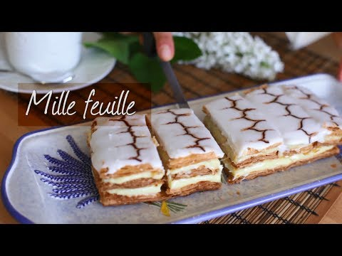 How to make mille feuille | Recipe video