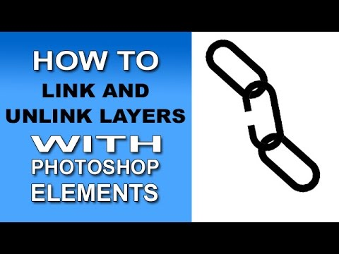 Linking Layers in Photoshop Elements