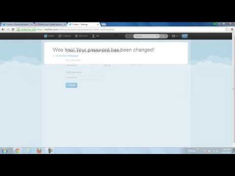 How to Reset and Recover Twitter Password