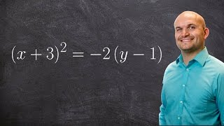Pre Calculus How To Find The Focus And Directrix Of A Parabola X32 2y