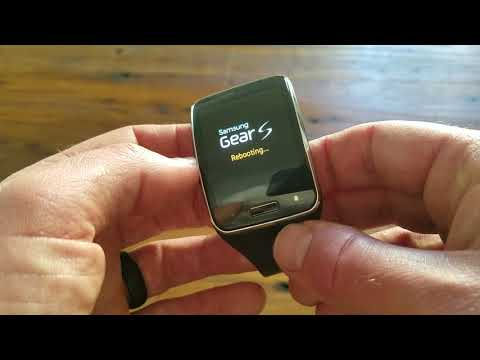 How to Reset Samsung Gear S Watch