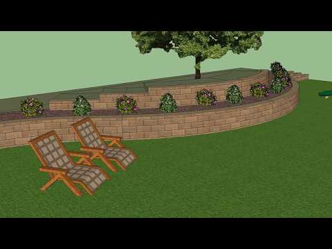 AB 3D Modeling Tool for Retaining Walls