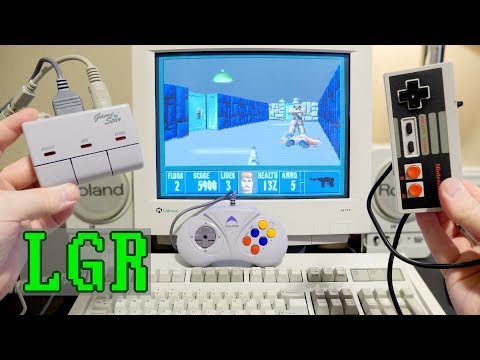 Dynapoint GameStar: 1993 NES to PC Keyboard Adapter