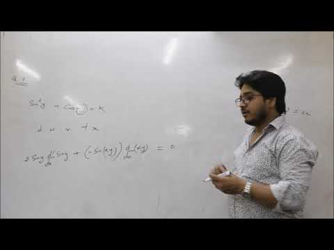 DIFFERENTIATION CLASS 12 CHAPTER 5 PART-2 -BY MANOJ DUBEY