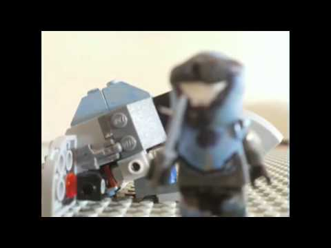 Lego Speeder and Walking Test (Lego Halo)