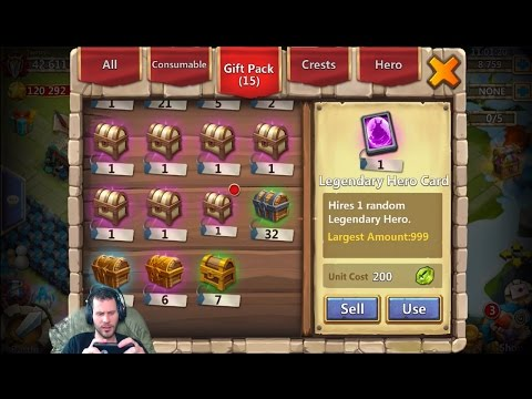 JT's Free 2 Play Lost Battlefield TONS of Rewards to Open Castle Clash
