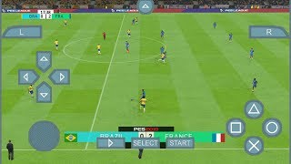 PES 2018 BY JOGRESS V3 REVIEW (PSP) PPSSPP