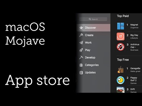 Mac App Store for macOS Mojave