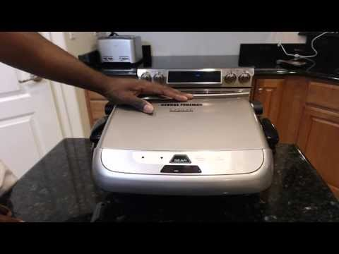 George Foreman Grill w/ Removable Plates - Evolve Review